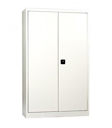 Grande Armoire métalliques haute à portes battantes Blanc RAL 9010.jpg