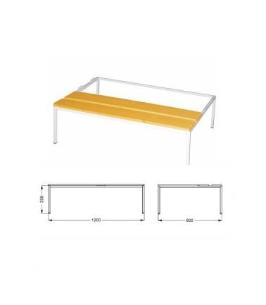 Socle-Banc 120 cm